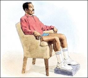 Image of man in chair